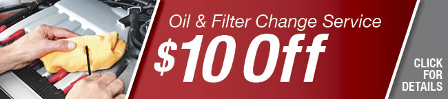 Oil & Filter Change Service Coupon, Arlington