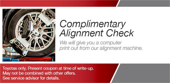 Image result for Toyota wheel alignment