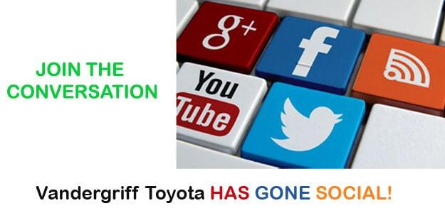 Vandergriff Toyota Social Media   Google +, Facebook ...