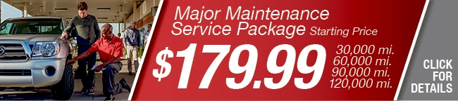 Major Maintenance Package Coupon, Arlington