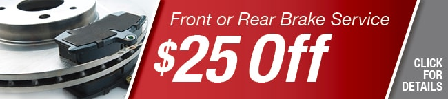 Front or Rear Brake Coupon, Arlington