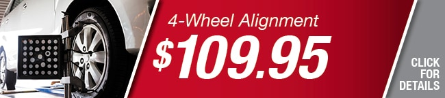 4 Wheel Alignment Coupon, Arlington