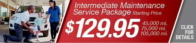 Intermediate Maintenance Package Coupon, Arlington