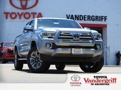 New 2019 Toyota Tacoma Limited V6 Truck Double Cab Arlington, TX