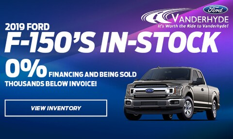 2019 Ford F-150s In-Stock