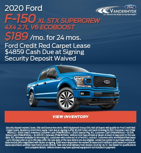 2020 Ford F-150 XL STX SuperCrew 4x4 2.7L V6 EcoBoost