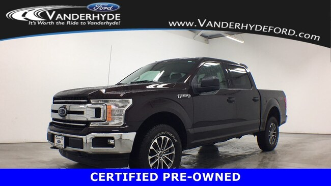 used certified 2018 Ford F-150 XLT Truck for sale in Rockford MI