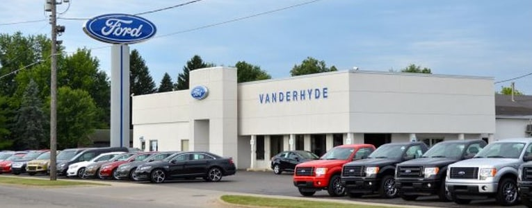 about vanderhyde brothers ford inc cedar springs new ford and used car dealer. Black Bedroom Furniture Sets. Home Design Ideas