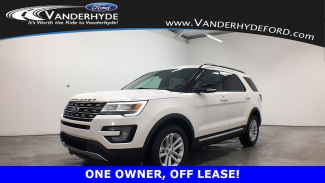 used certified 2017 Ford Explorer XLT SUV for sale in Rockford MI