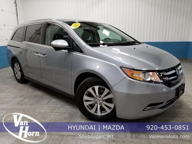 2017 Honda Odyssey Se >> Used 2017 Honda Odyssey For Sale At Van Horn Hyundai Of Sheboygan