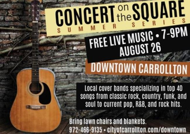 concert on the square: shades of gray coming to arlington, texas