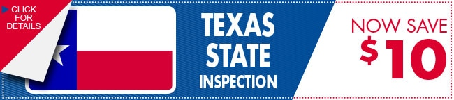 State Vehicle Inspection Coupon, Carrollton