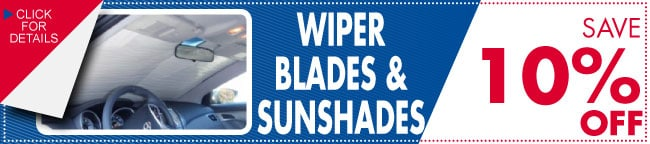 Wiper Blades And Sun Shades Coupon, Carrollton, TX