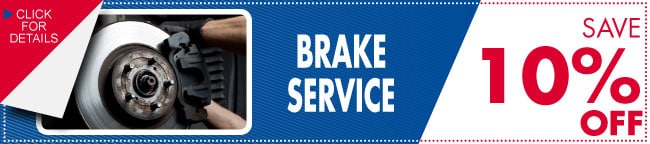 Brake Service Coupon, Dallas, TX