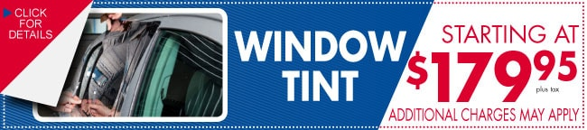 Window Tint Coupon, Dallas, TX