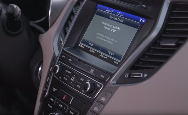 Hyundai iPhone Bluetooth Pairing