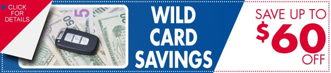 Wild Card Auto Service Savings Coupon, Dallas, TX