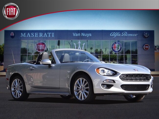 2018 FIAT 124 Spider LUSSO Convertible NVJ139052