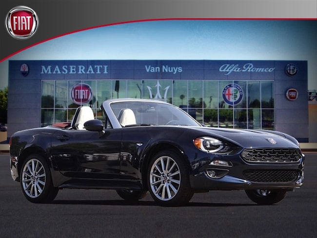 2018 FIAT 124 Spider LUSSO RED TOP EDITION Convertible NVJ139162