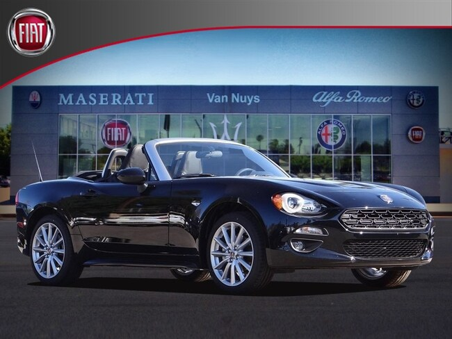 2018 FIAT 124 Spider LUSSO Convertible NVJ139090
