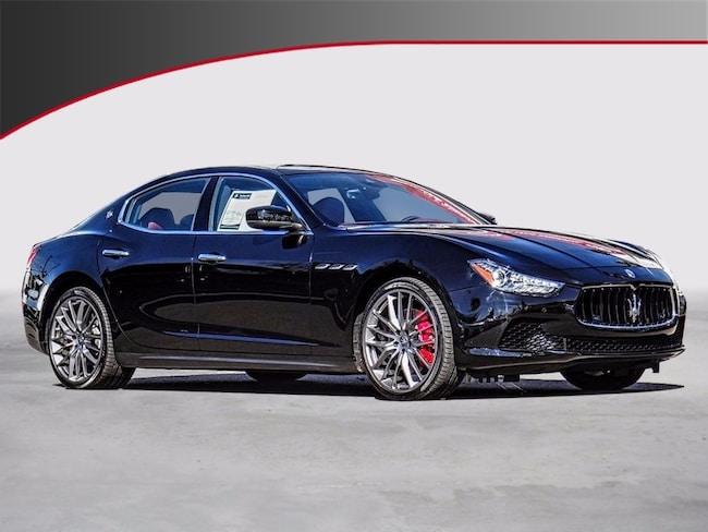 2017 Maserati Ghibli S Sedan NQH233599
