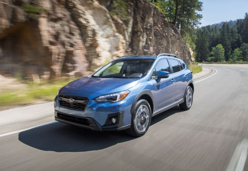 New Subaru Crosstrek and WRX Earn Top Safety Award