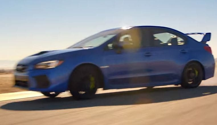 2018 Subaru WRX and WRX STI tackle a racetrack with ease