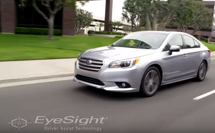 Subaru Eyesight Video >> Video Subaru S Eyesight Technology Will Help You Stay Safe