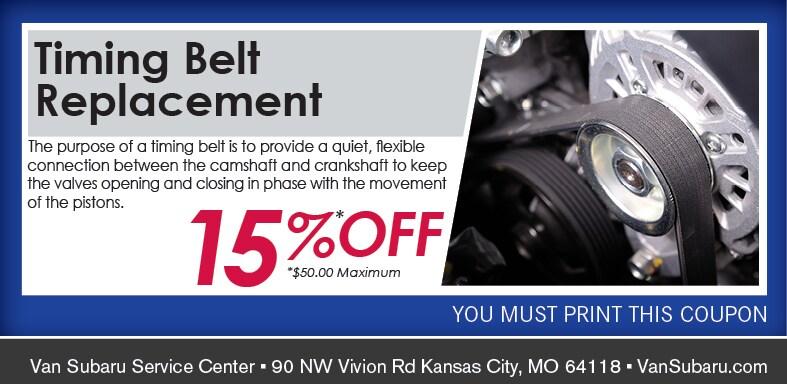 Auto Timing Belt Service Discount Kansas City MO