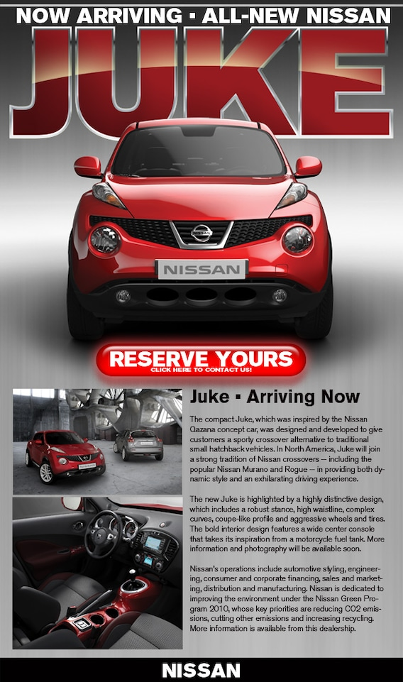 2011 Juke New Nissan SUV | New Mexico Juke Pricing Colors & Info