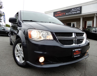 2014 Dodge Grand Caravan Crew, Backup Camera, Stow n' Go Seats Minivan