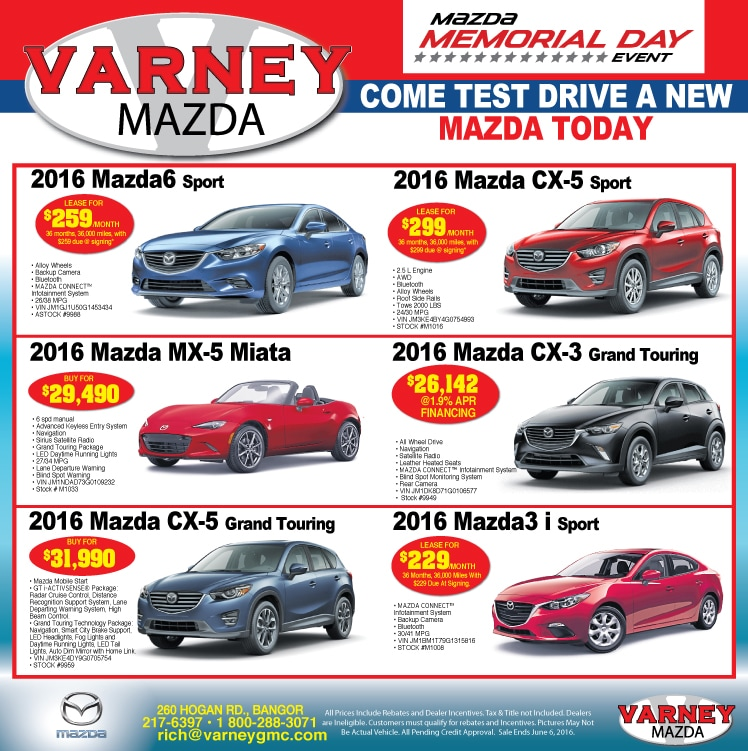 Varney Auto Group | New Mazda, GMC, Buick, Chevrolet, Ford ...