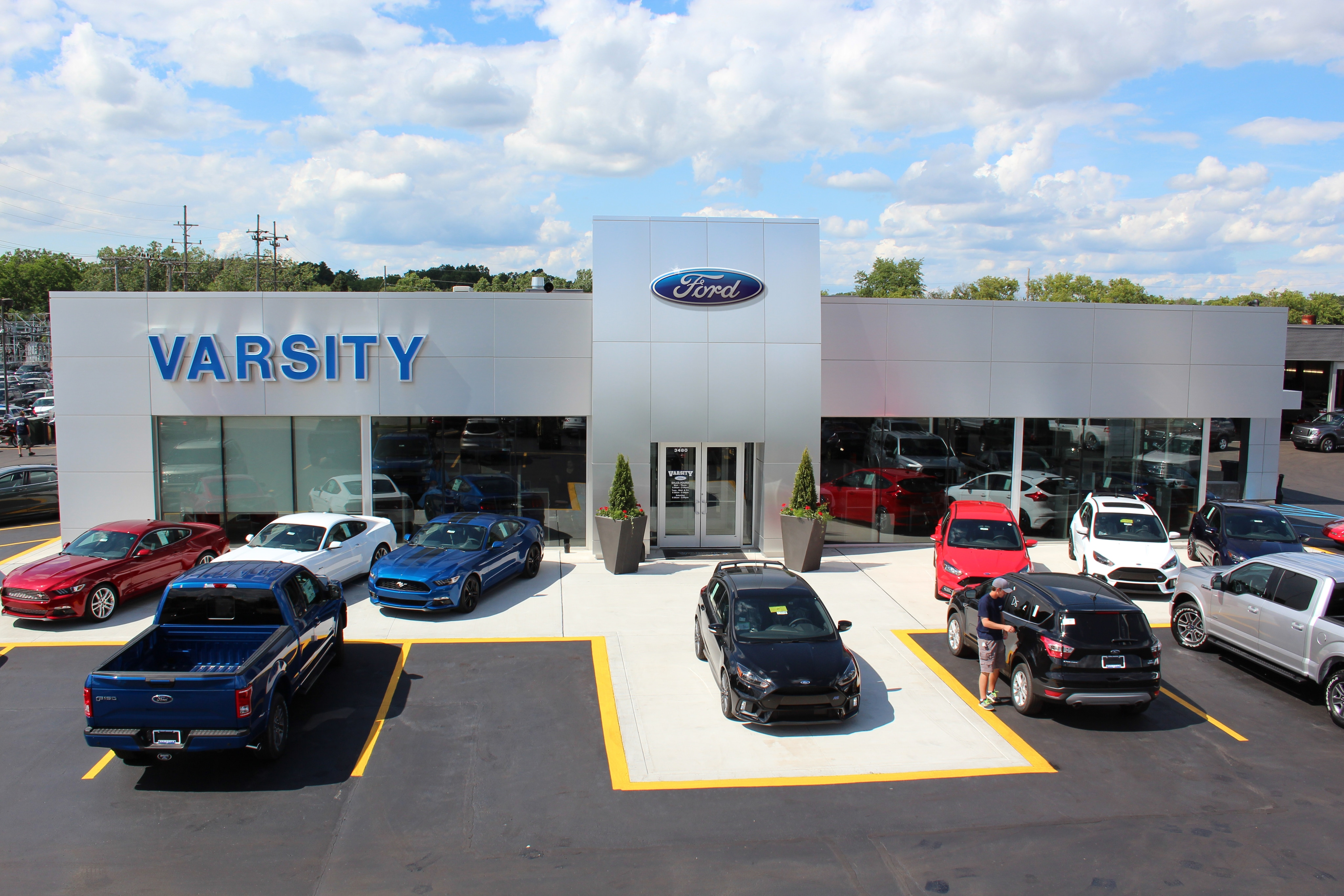 Varsity Ford Ann Arbor >> About Varsity Ford Sales Inc | New Ford and Used Car