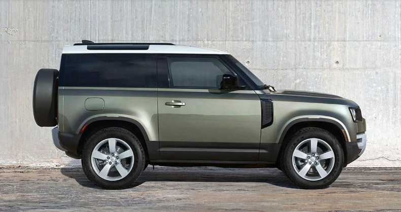 All New 2021 Land Rover Defender 90   Land Rover Chantilly