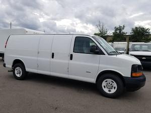 2011 Chevrolet Express 3500 6.6L Duramax Diesel Extended Cargo