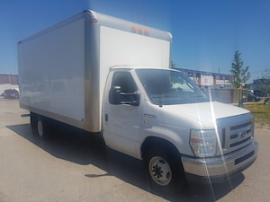 2011 Ford E-350 16Ft 5.4L V8 Gasoline Cube Van