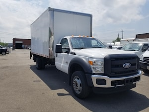 2011 Ford F-550 CHASSIS CAB 16Ft + Lift Gate 6.7L V8 Diesel