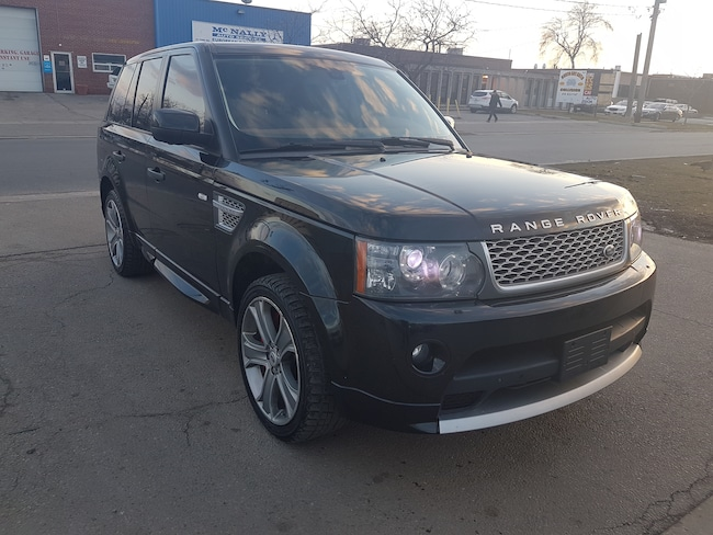 2011 Land Rover Range Rover Sport Autobiography 5L V8 SuperCharged SUV