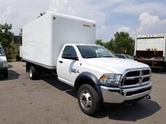 2014 DODGE Ram 5500HD 17Ft Unicell Box + Ramp 6.7L Cummins Diesel + Factory Warranty