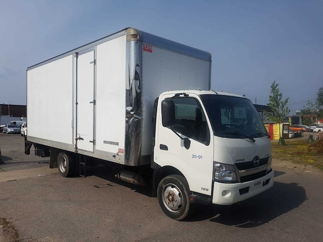 2013 HINO 195 20Ft Box + Lift Gate & Side Door 5.0L Diesel 20Ft x 93in High Box