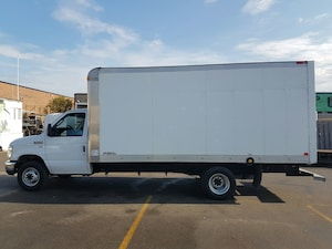 2013 Ford E-450 5.4L V8 Gas - 16x7Ft High Aluminum Box Commercial