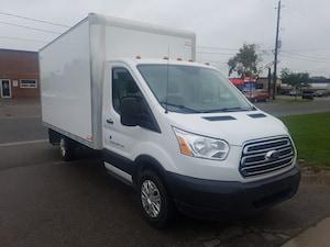 2016 Ford Transit-350 T350 14Ft Single Rear Wheel Cube Van