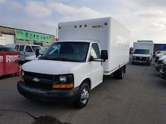 2013 CHEVROLET Express G3500 + Side Door & Pull Out Ramp 6.0L V8 Gasoline