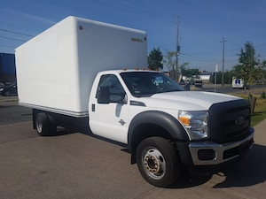 2015 Ford F-550 Chassis F550 17Ft Box 6.7L V8 Diesel + Ramp