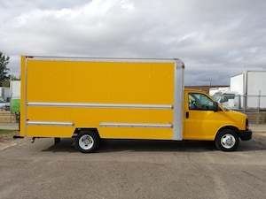 2012 GMC Savana 3500 16Ft V8 Gas Cube Van -Three To Choose