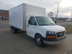 2014 Chevrolet Express 3500 G3500 6.6L Duramax Diesel 16Ft Aluminum Box Commercial