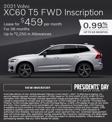 2021 Volvo XC60 T5 FWD Inscription