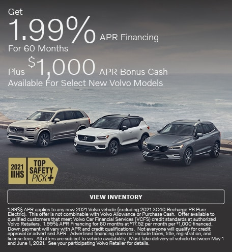 Get 1.99% APR Financing For 60 Months