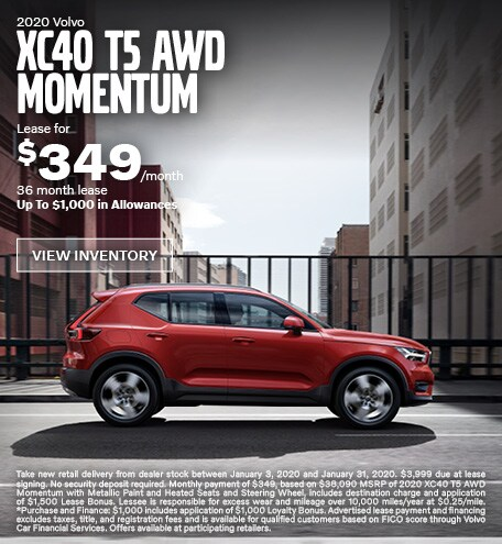 New 2020 Volvo XC40 T5 AWD Momentum