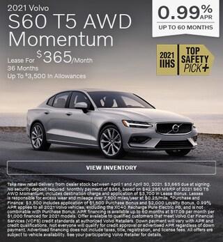 2021 Volvo S60 T5 AWD Momentum